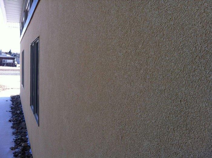 close up of stucco